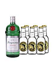 2x Tanqueray Gin + 12 Tonics (Thomas Henry 200ml) für 34,73€