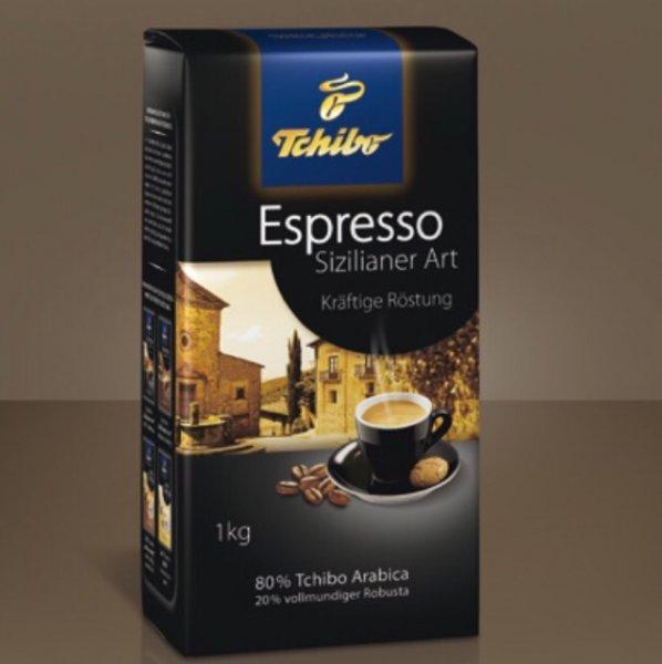 [lokal Venlo] Tchibo Espresso Sizilianer Art - 1kg Ganze Bohne  (Angebot)