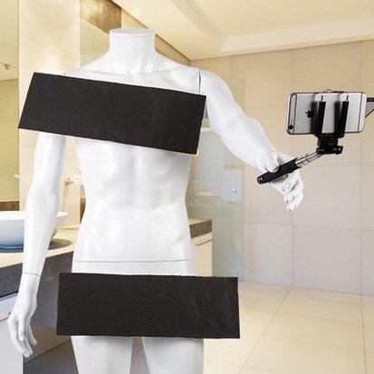 [Groupon] Sicht-Abwehr-Streifen für Nackt-Selfies, für Partys oder als Kostüm - GRATIS