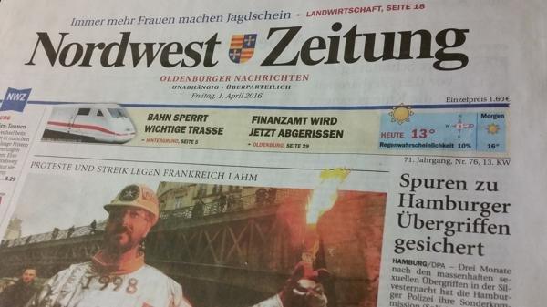 Heutige Ausgabe der Nordwest-Zeitung kostenlos (NWZ-ePaper)