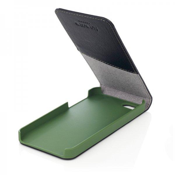 Knomo Flip Case für das iphone 5 5S und wohl auch SE