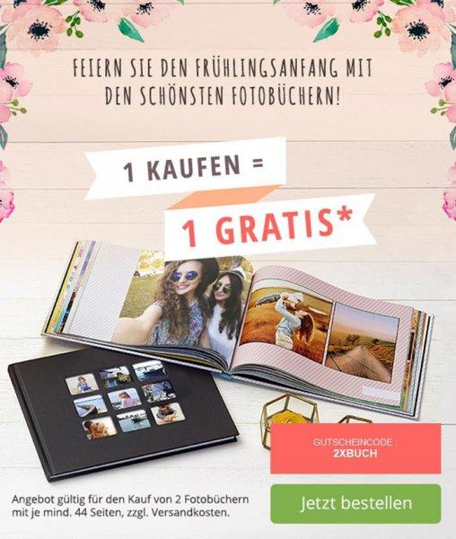 Photobox  - zweites Fotobuch geschenkt ab 44 Seiten