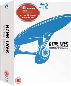 Star Trek: 1-10 Remastered (Blu-ray Box) für 28,85€ bei Zavvi