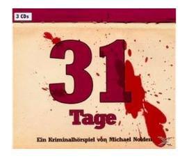 Michael Nolden: 31 Tage (3 CDs) Hörbuch-Krimi für 1,99€ bei Saturn