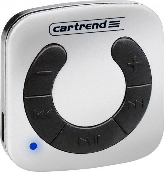 [voelkner] Cartrend 90124 Bluetooth-Audio-Empfänger mit Akku und aptX, inkl. Kfz-Lader und USB- und Audiokabel
