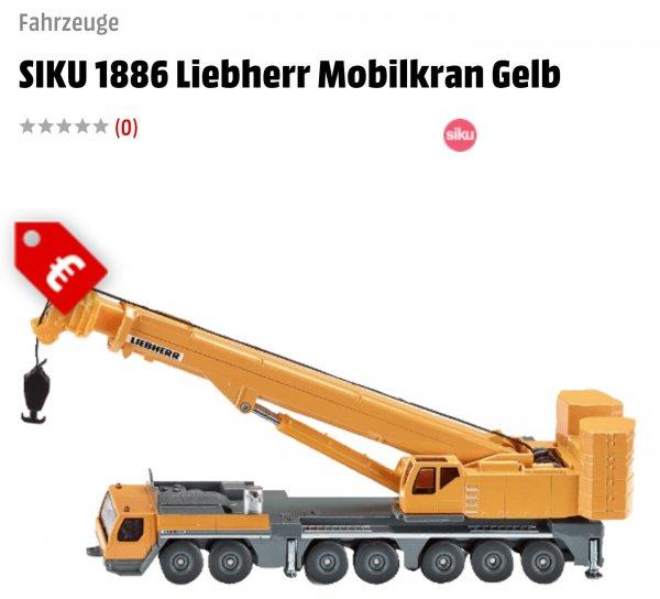 [Media Markt Online] SIKU 1886 Liebherr Mobilkran Gelb für 1.00€(Versandkostenfrei), nächster idealo Preis liegt bei 12.99€+Versand