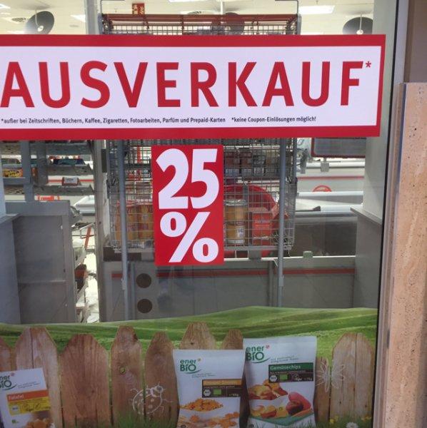 Ausverkauf 25% auf alles Rossmann (Lokal Bremen)