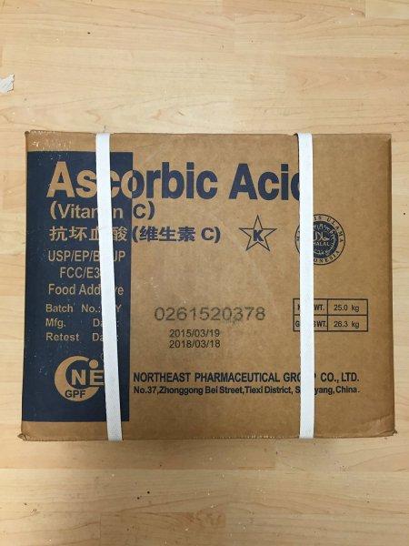 [Amazon] 1000 kg / 1 Tonne Vitamin C Ascorbinsäure E300