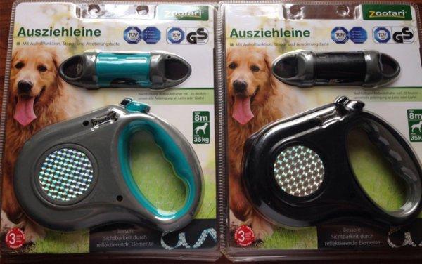 Zoofari Ausziehleine 8m Hundeleine zum Knallerpreis