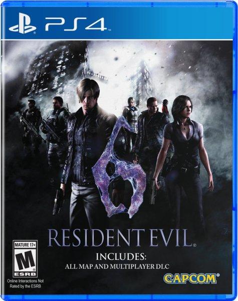 Resident Evil 6 PS4 für 25,29€ inkl.VSK