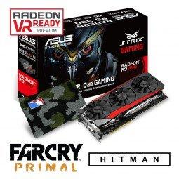 ASUS Radeon R9 390 DC3OC + Hitman + Far Cry Primal + Wristband Camou ab 302,99 € @ Caseking
