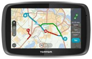 [real]TomTom GO 51, Dienstag 05.04.