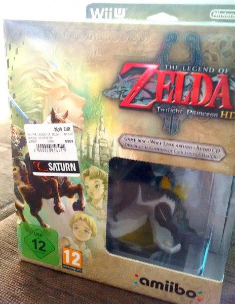 [Saturn / Lokal] The Legend of Zelda - Twilight Princess HD (Limited Edition)