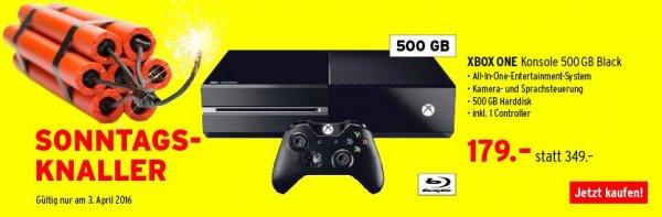 [Schweiz] XBOX ONE Konsole 500 GB Black für nur ~164€
