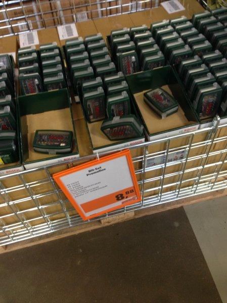 [Lokal Fulda?] Globus Baumarkt - Bit-Set 32teilig Bosch PROMOLINE