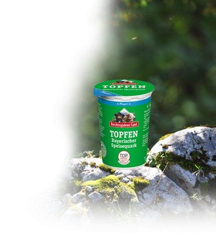 Berchtesgadener Land Bayerischer Topfen (Speisequark) mager 500g für 0,75 statt 0,99 Euro offline @ EDEKA Südbayern