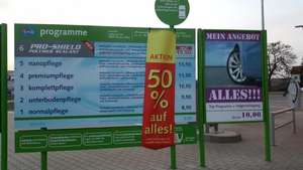 [Lokal Dessau-Roßlau] - IMO Waschstraße 50% auf alles