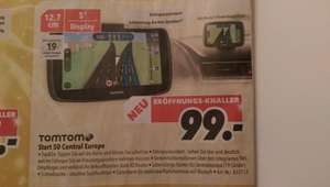 99€ TomTom Start 50 Central Europe (idealo 119€) bei MediMax in Bochum