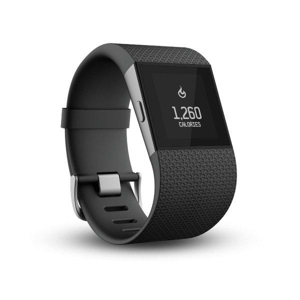 Fitbit Surge Größe S - Schwarz - Gebraucht - Gut  [Amazon Warehouse Deal]