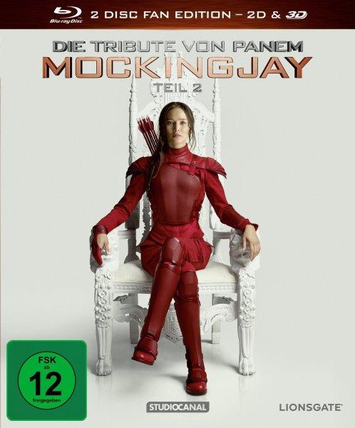 [Müller] Die Tribute von Panem - Mockingjay Teil 2 (Blu-ray 3D, Fan Edition) 17,99€ u.a.