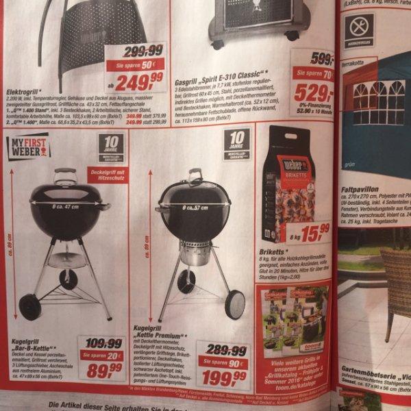 Weber Kettle Premium 57 cm für 179,10€