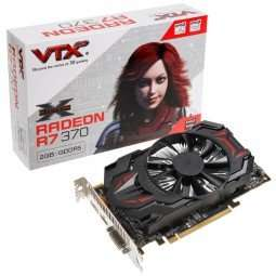 VTX3D Radeon R7 370 Single Fan Edition, 2048 MB GDDR5 ab 112,99 € @ Caseking