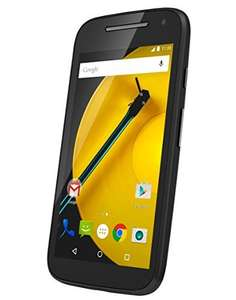 Motorola Moto E LTE 2015 (4,5'' qHD IPS, Snapdragon 410 Quadcore, 1GB RAM, 8GB intern, 5MP + 0,3MP Kamera, 2390 mAh, Android 5 -> Update auf 6) inkl. Vsk für ca. 85 € > [amazon.uk]