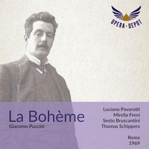 [Opera Depot] Puccinis La Bohème mit Mirella Freni und Luciano Pavarotti als Gratis-Download