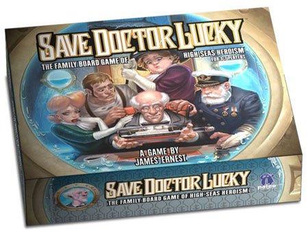 [Spiele-Offensive] Save Doctor Lucky   24% Ersparnis   Brettspiel   Gesellschaftsspiel