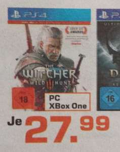 PS4 The Witcher - Wild Hunt ( Lokal Saturn Moers )