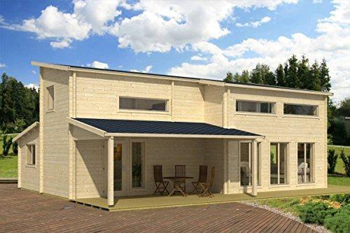 +++ Hinweis und Links beachten - Deallink nicht mehr aktuell +++Ferienhaus inkl. Fußboden - 70 mm Blockbohlenhaus, Nutzfläche gesamt: 99,20 m², Stufendach