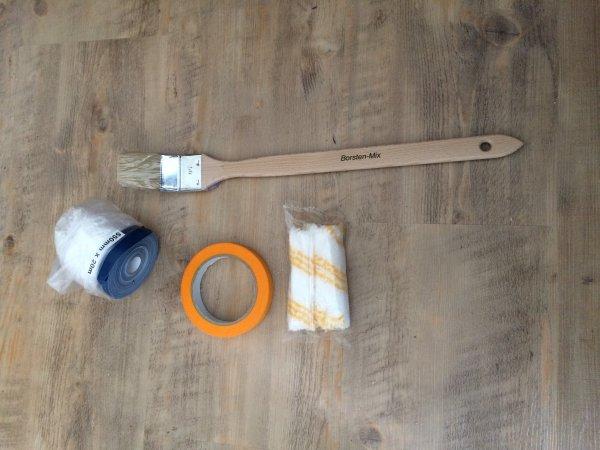 (Handwerker-Outlet) 4-teiliges Maler-Set für Gewerbetreibende