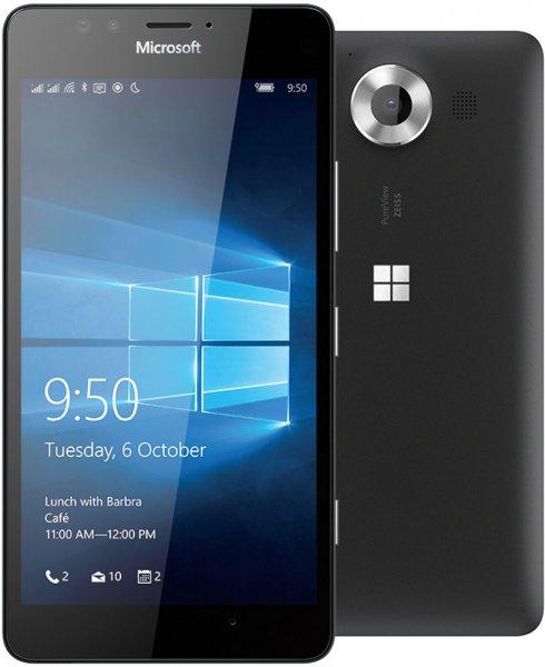 """[Ebay] Microsoft Lumia 950 [13,2 cm (5,2"""") Quad-HD; 1,8 GHz Hexa-Core CPU; 20 MP Kamera; 32GB Speicher, Windows 10) schwarz für 399,-€ Versandkostenfrei ab ca. 08.00 Uhr"""