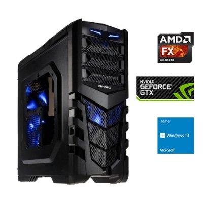one.de Deal - Desktop PC | AMD FX-4300 | 4 GB GTX 960 | inkl. Windows 10 Home