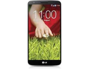 "LG G2 LTE Smartphone - 5,2"" Full HD, 4x 2.26GHz (Snapdragon 800), 2GB Ram, NFC, DLNA, Infrarot-Port, 13.0MP f/2.4 Kamera, Android 5 für 134,95€ bei Allyouneed"