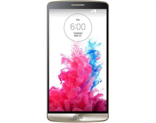 "LG G3 LTE Smartphone 5,5"", 2560x1440, 16 GB, 13 MP Kamera (2,1 MP Front) für 174,95€, Farbe Gold, DEMOWARE bei Allyouneed"