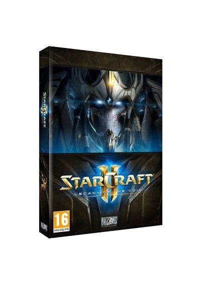 StarCraft II: Legacy of the Void (PC/Mac) für 23,50€ und StarCraft II - Battle Chest für 22,69€ bei Amazon.es