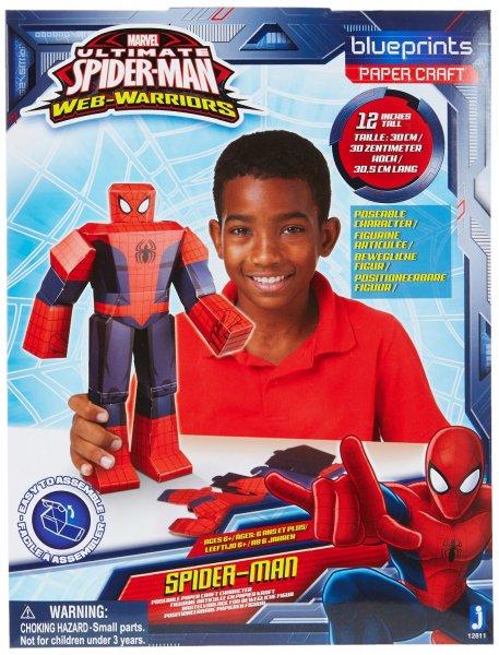 [Amazon Plus] Marvel Bastelfiguren (Spiderman, Hulk, Avengers) ab 1.43 @ amazon