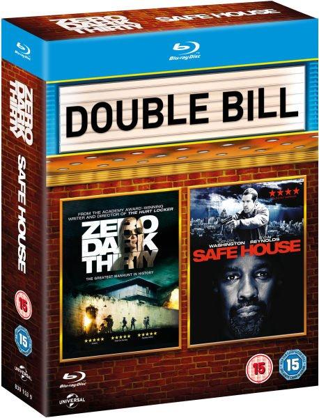 Safe House + Zero Dark Thirty (Blu-ray) für 7,52€ bei Zavvi