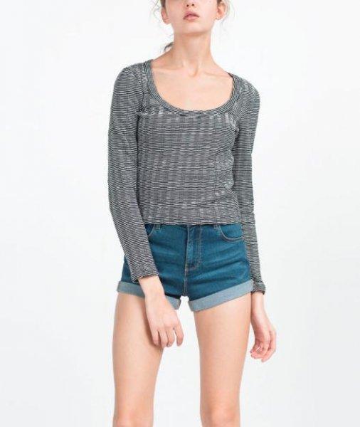 [Zara] Midseason Sale mit 40% auf ausgewählte Damen-und Herrenkleidung, z.B. Jacquard Sweatshirt für 5,97€ statt 9,99€