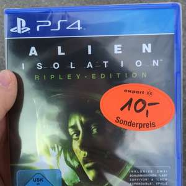 [München/Unterhaching] Alien Isolation PS4 Ripley Edition