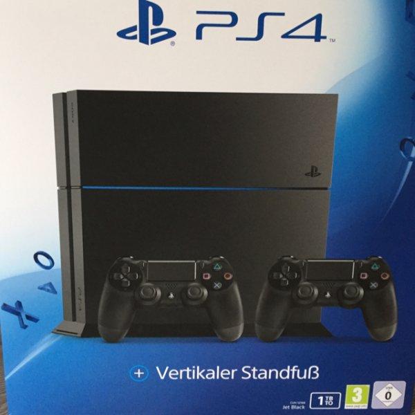 [MediaMarkt] PlayStation 4 1TB inkl. 2 Controller und Standfuß