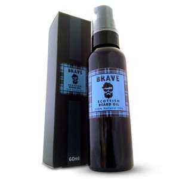 [AMAZON Prime] Brave Beard Oil 60ml - Schottisches Bartöl 100% Natürliche Inhaltsstoffe