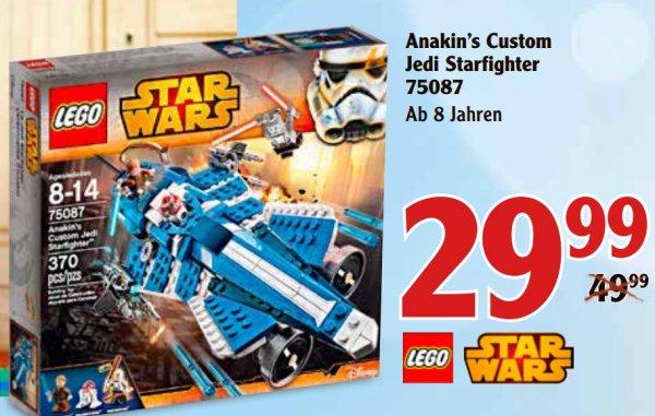 """[WAGHÄUSEL] Lego Star Wars """"Anakin's Custom Jedi Starfighter"""" 75087 für 29,99€"""