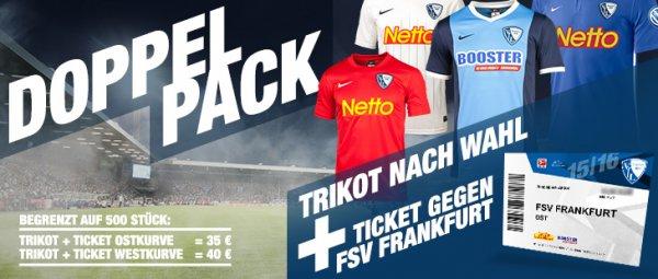 VfL Bochum Trikot 15/16 und Ticket gegen FSV Frankfurt im Doppelpack