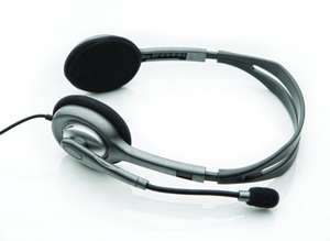 """Logitech™ - Stereo-Headset """"H110"""" (Silber) [B-Ware] ab €5,58 [@Allyouneed.com]"""