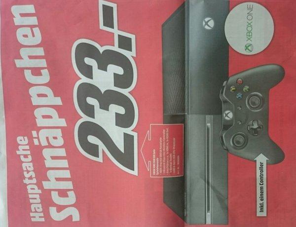 [LOKAL] Xbox One, 233€, Mediamarkt Leinfelden-Echterdingen/Stuttgart-Vaihingen