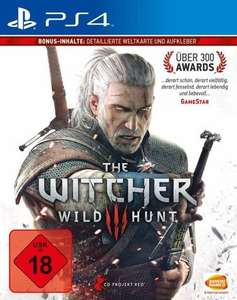 PS4 - The Witcher 3: Wild Hunt (2.Auflage) ab €24.- [@Buecher.de]