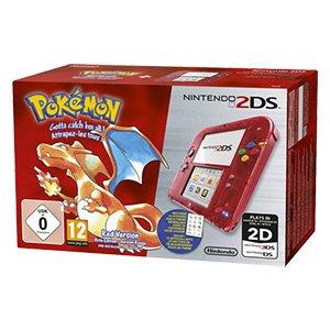 Nintendo 2DS + Pokémon Rote Edition für 85€ bei Real