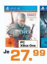 [Saturn ] The Witcher 3: Wild Hunt (2. Auflage) - [PS4 und XB1] ab 25,28€ bei Lieferung in die Filiale